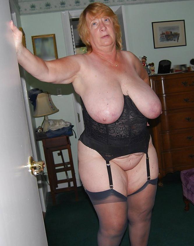 Busty Granny Porn