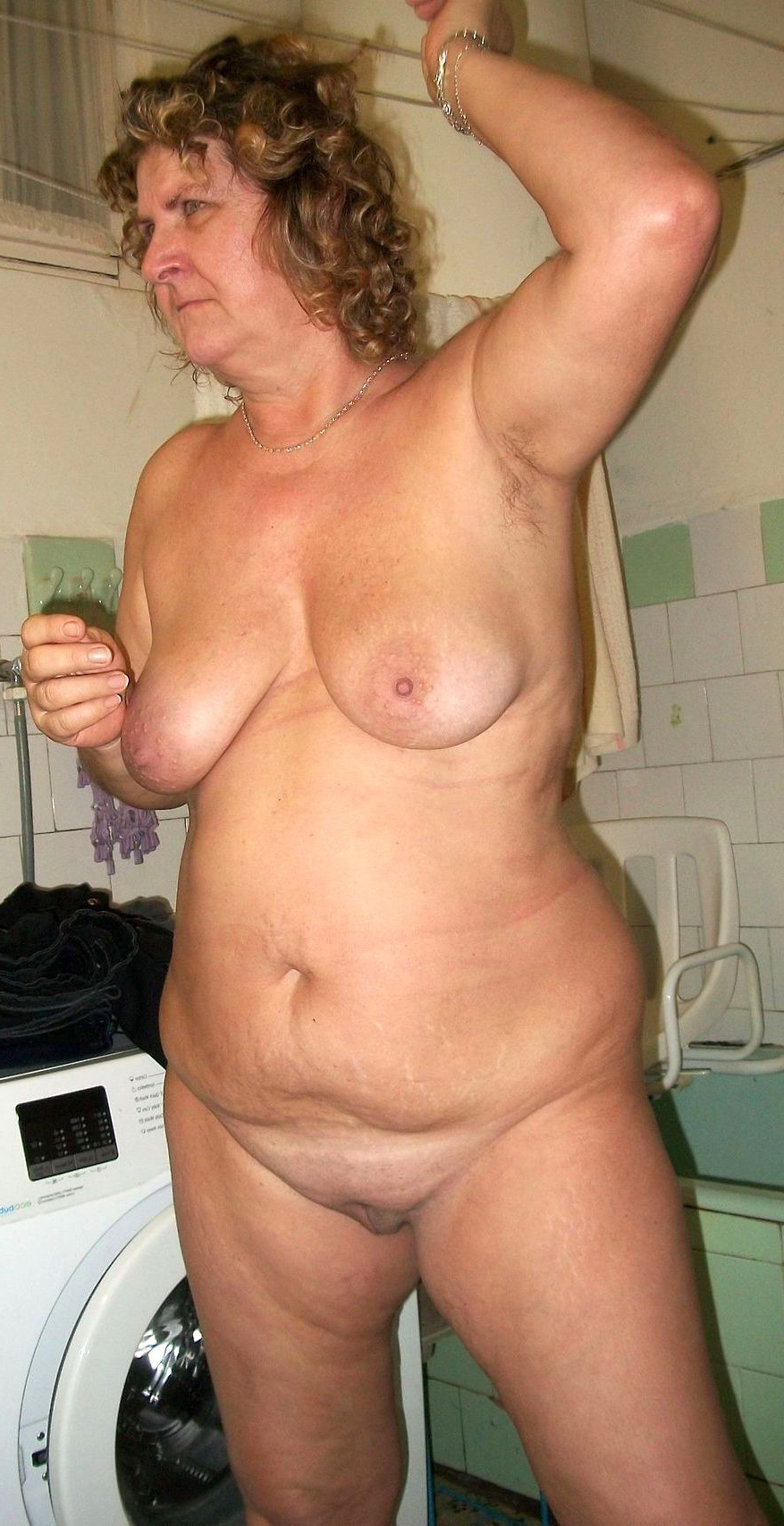 Naked bitchy wife