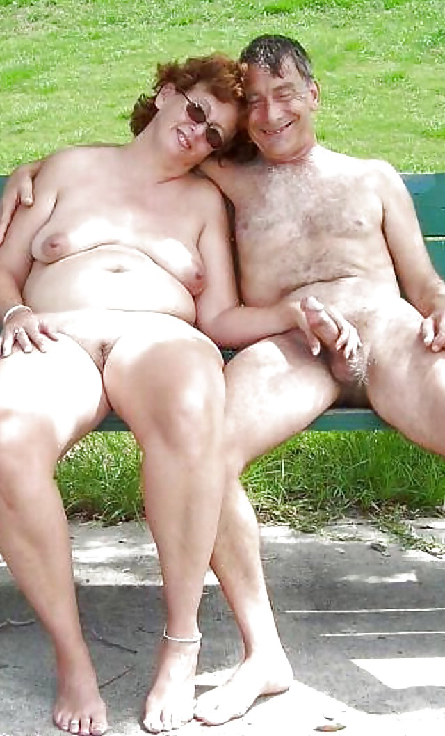Couples naked old Homemade Amateur