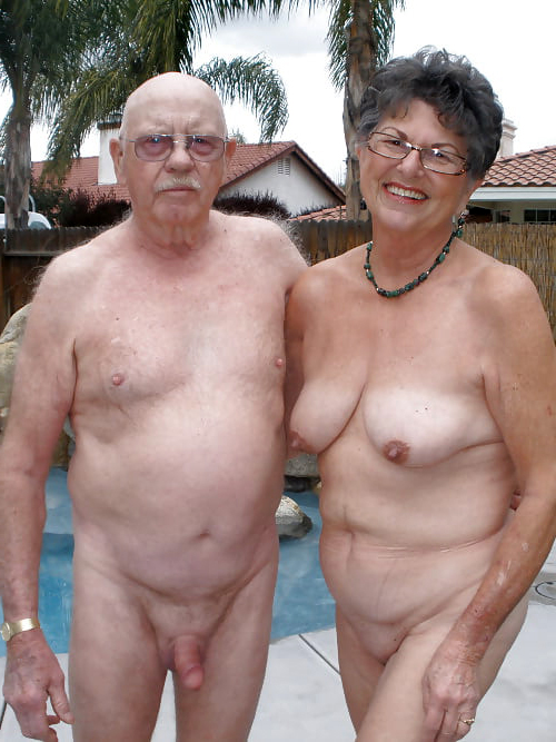 Old naked couples